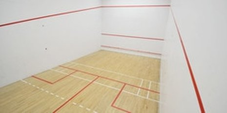 Squash Private Lessons on the court at Squash Revolution in Bethesda MD
