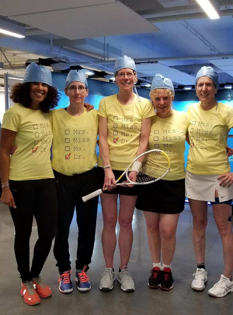 Squash players in DC trained by Squash Revolution