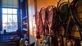 Adult Squash rackets at Squash Revolution in Capitol Hill, DC