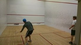 View courts - Squash Revolution - MClean Sport&health